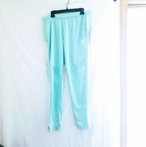 Womens size xl Adidas mint green athletic pants